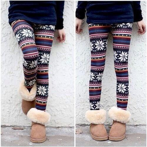 weihnachtliche leggins