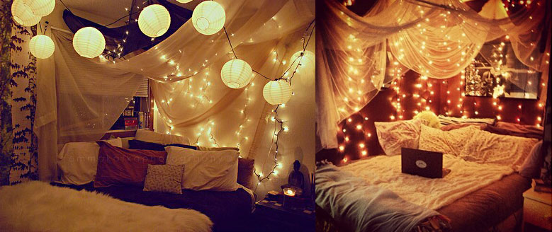lampion lichterkette pretty little page. Black Bedroom Furniture Sets. Home Design Ideas