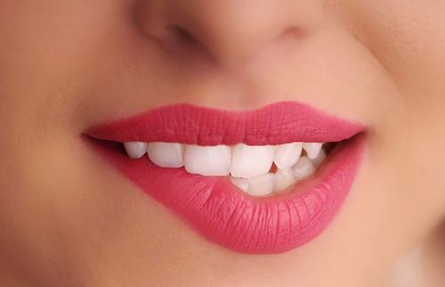 gesunde gepflegte lippen