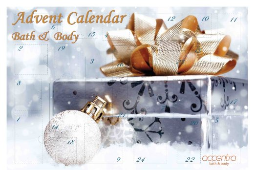 accentra Adventskalender Bath and body 2015