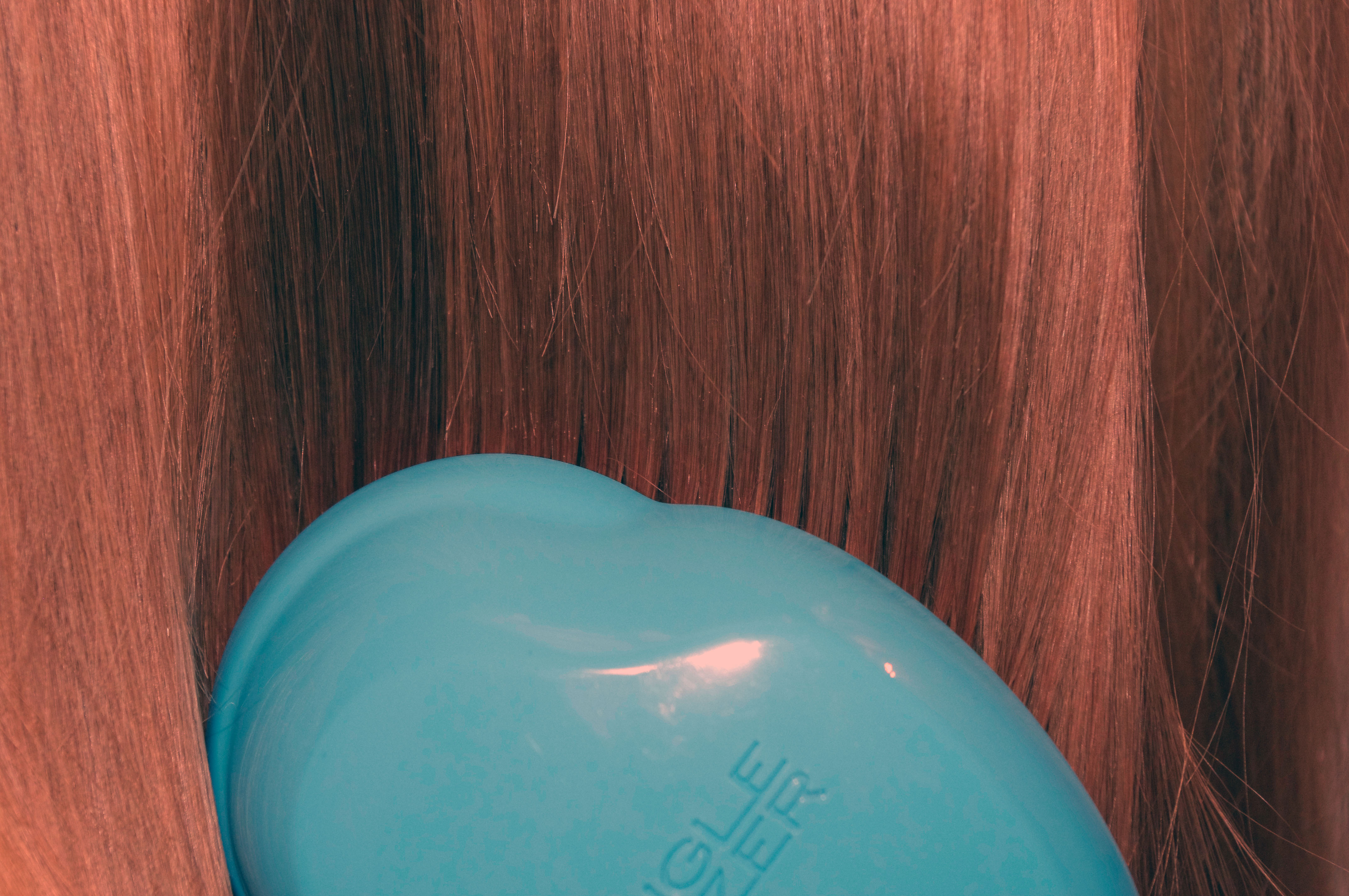 Tangle teezer original blau glaenzende Haare