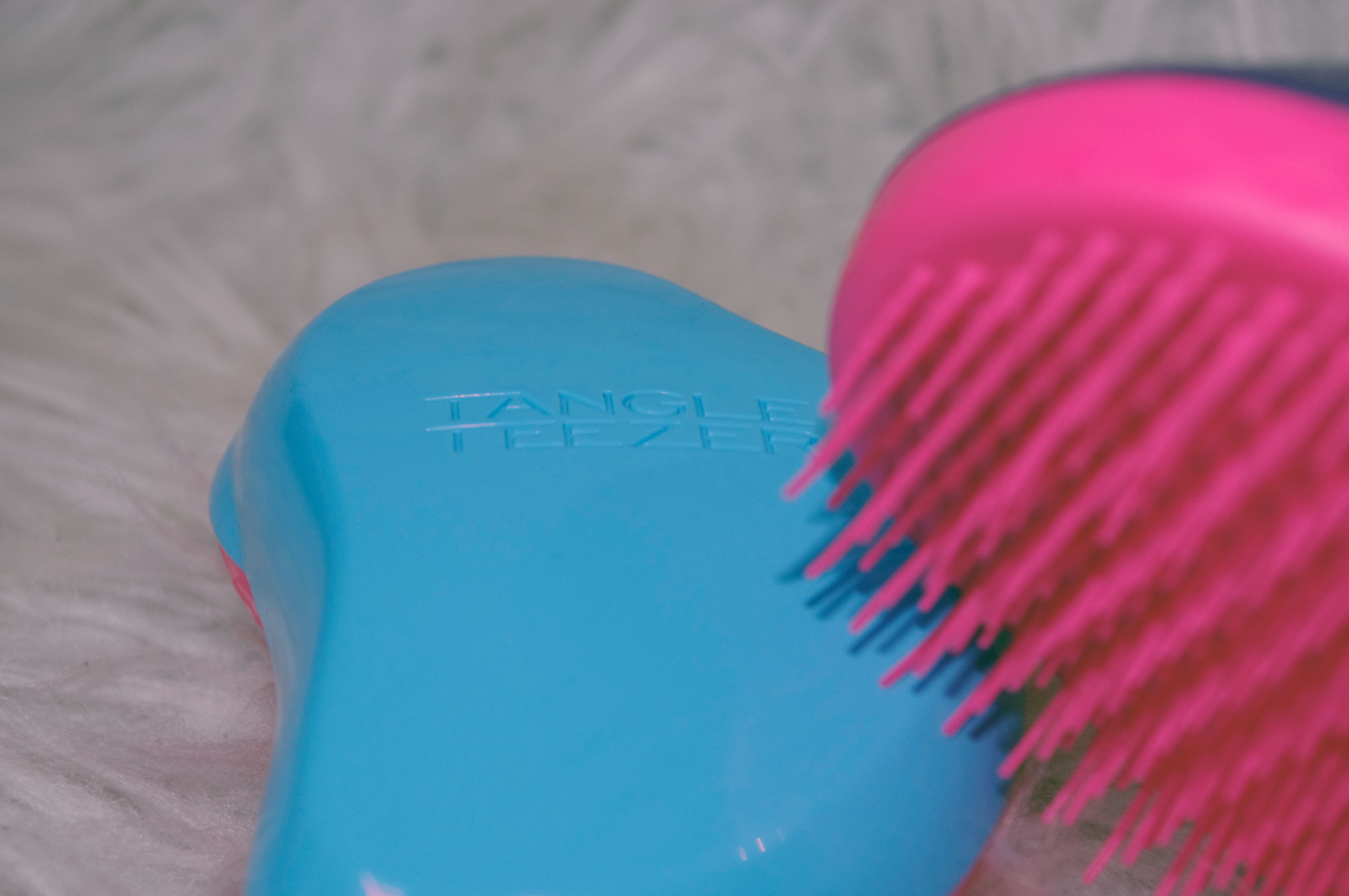 tangle teezer original blau und pink