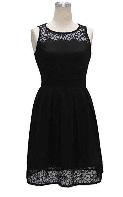 kurzes-schwarzes-kleid-sommerkleid-cocktailkleid